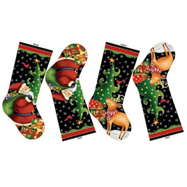 25 Days Till Christmas Stocking Panel