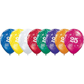 25 latex balloon x 1