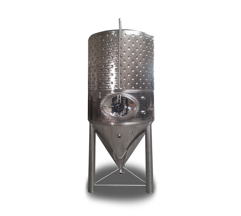 2500l conical beer tank 3 bar