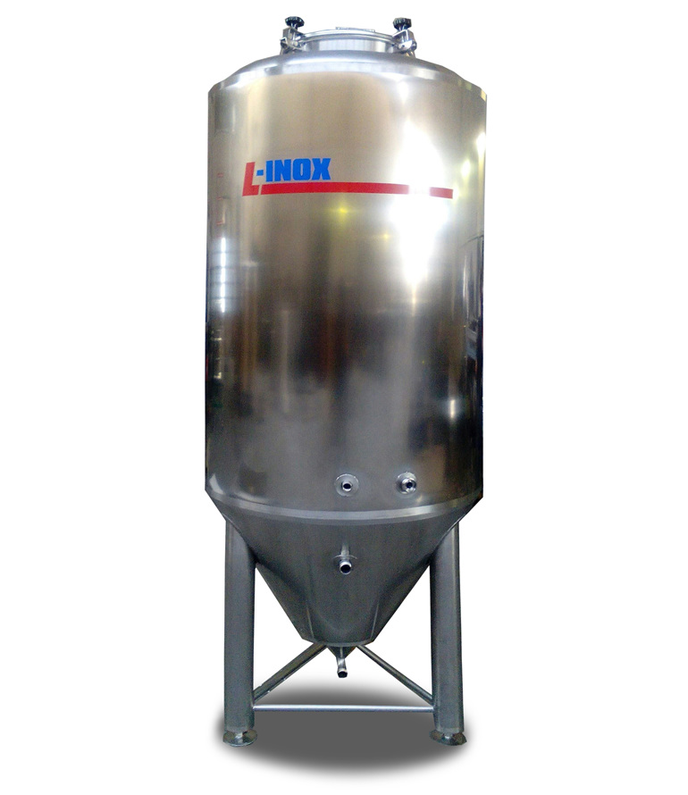 2500l conical insulated beer tank 3 bar