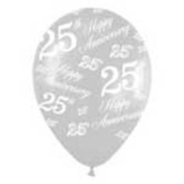 25th Wedding Anniversary Balloons