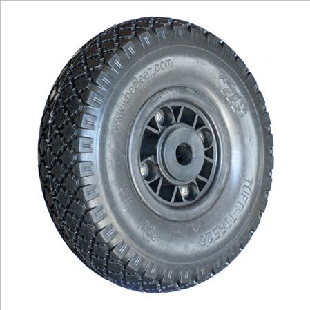 """26 cm (10.2"""")  Polyurethane Foam  Tuff-Tyre Wheel"""