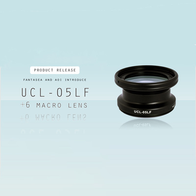 26 January 2017: Fantasea & AOI introduce +6 Diopter Wet Macro Lens
