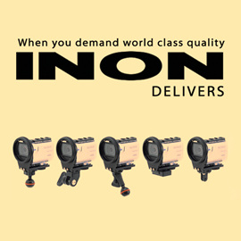 27 October 2016: INON SD Mount Base  for Sony 4K action camera FDR-X3000