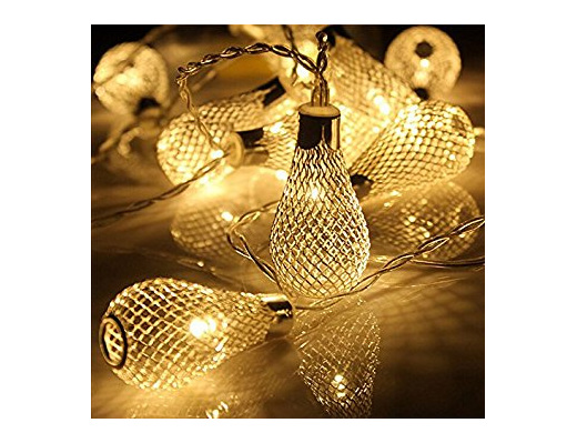 2m 20 Mesh Light Bulb Fairy Lights - Warm White - Party Lights Company