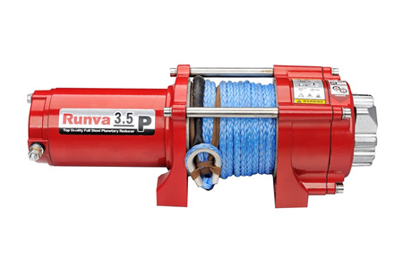 3.5P (3,500lb) Synthetic Spr Deluxe Winch
