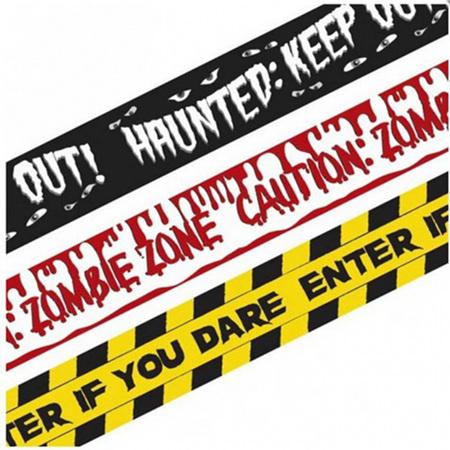 3 fright tape rolls - 9m each