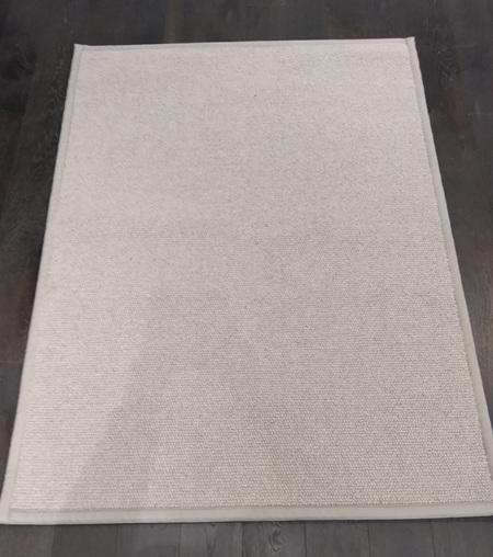 3 inch Silver Tape Chunky Loop Pile Area Rug