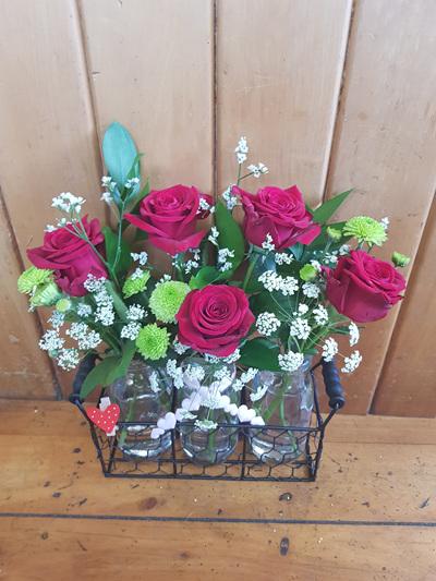 3 Jars Roses
