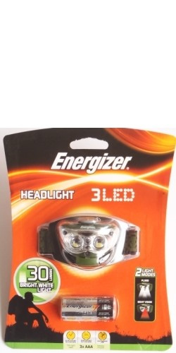 3 LED 30 Lumens Headlight