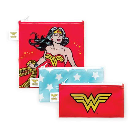 3 pack snack bags - Wonder woman