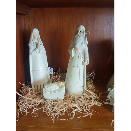3  piece Nativity set