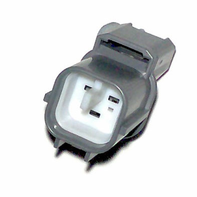 3 way sealed connector grey