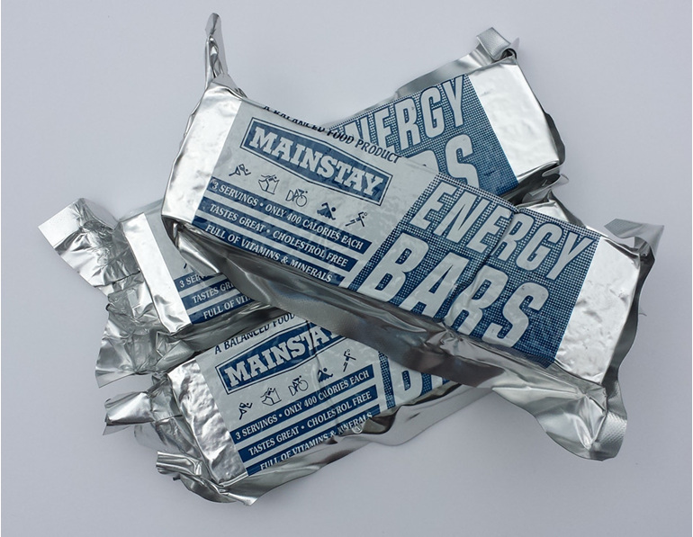 3 x Mainstay 1200 Emergency Food Ration packs