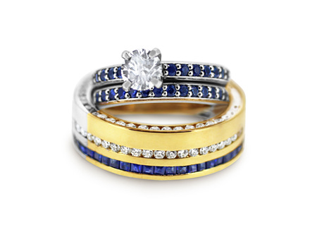 30 Hours Setting 169 Perfectly Matched Sapphires And Diamonds