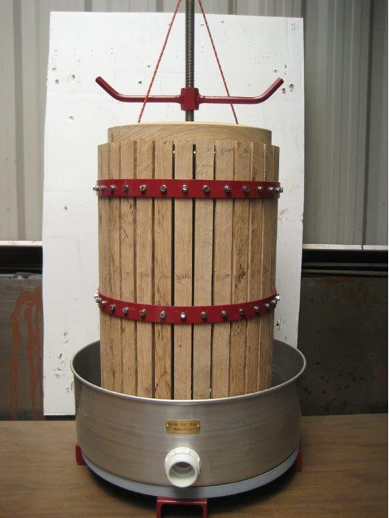 30 litre wine press / grape press / cider press / fruit press / basket press