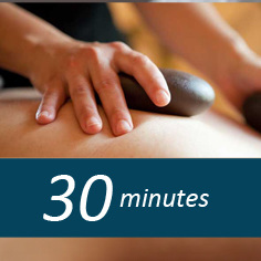 30 minute Hot Stone massage