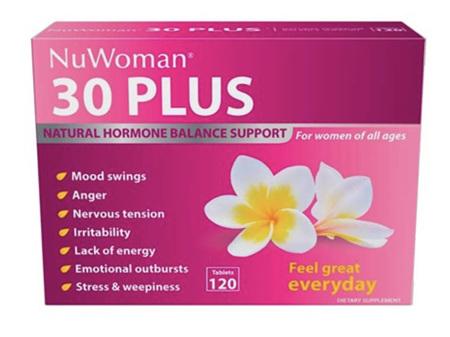 30 PLUS NuWoman Hormone Balance Support 120 tablets