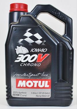 300V Chrono 10W40 - 5ltr