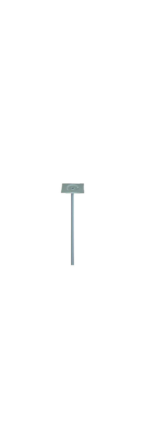 30mm Std Round Steel Mounting Post
