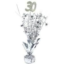 30th Birthday Table Centrepiece
