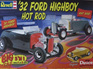 Revell 1/8 Big Scale 32 Ford Highboy Hot Rod 3n1
