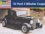 Revell 1/25 32 Ford 3 Window Coupe