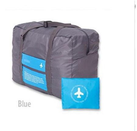 32L Blue & Grey Luggage Bag