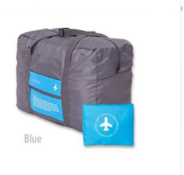32L Blue & Grey Luggage Bag