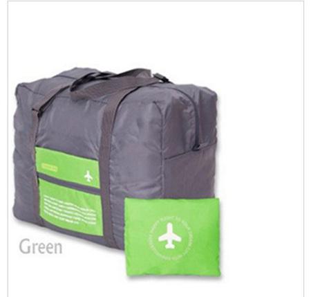 32L Green & Grey Luggage Bag