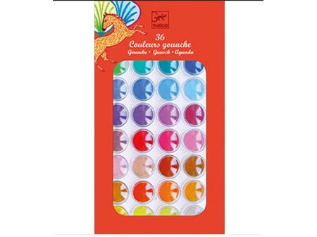 36 ColourPaint  Cakes