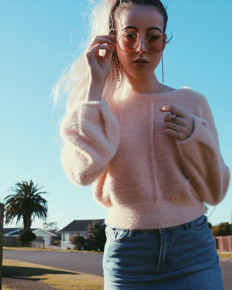 Sabrina Knit / Beige