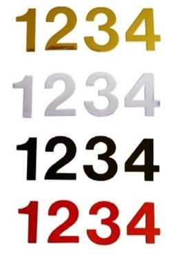 38mm & 50mm Self Adhesive Numbers