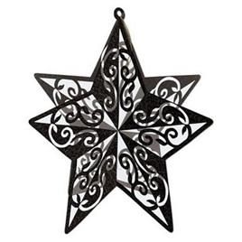 3D Glitter Star Table Centre Piece