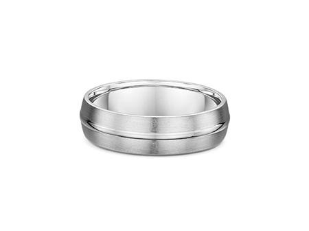 3D Inlay  Mens Wedding Ring