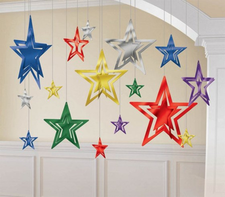 3d star decorating kit
