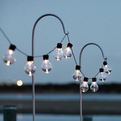 3m 20LEDs Solar Festoon globe ball String Fairy Lights - Warm White