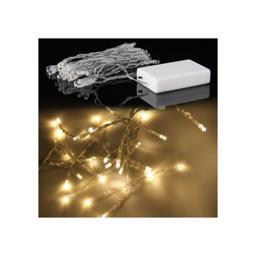Battery String Lights Nz : 3m 30LED Battery Operated Fairy Lights - Warm White - Party Lights Company