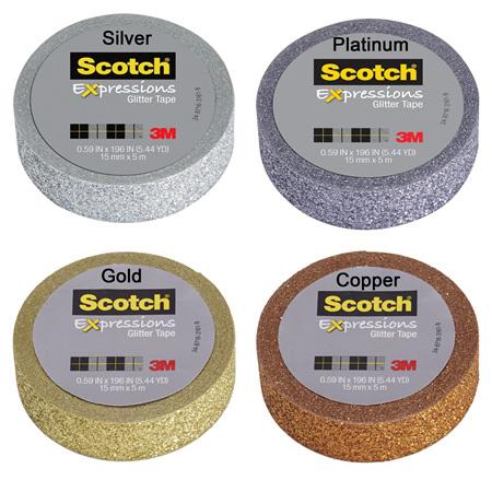 3M Scotch Washi Tapes - Glitters