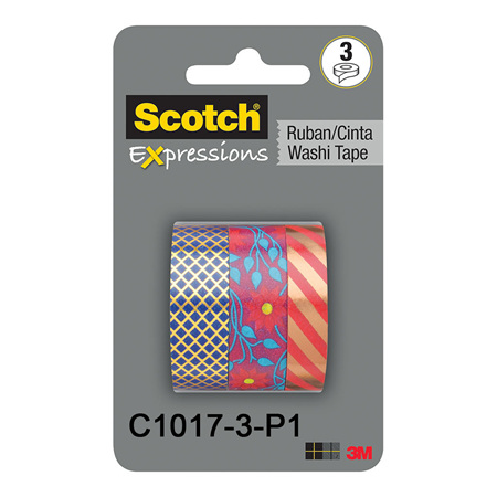 3M Scotch Washi Tapes - Packs