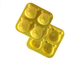 4 Bear Silicone Mould