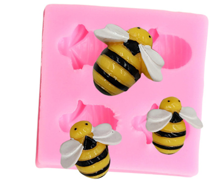 4 Bee Silicone Mould