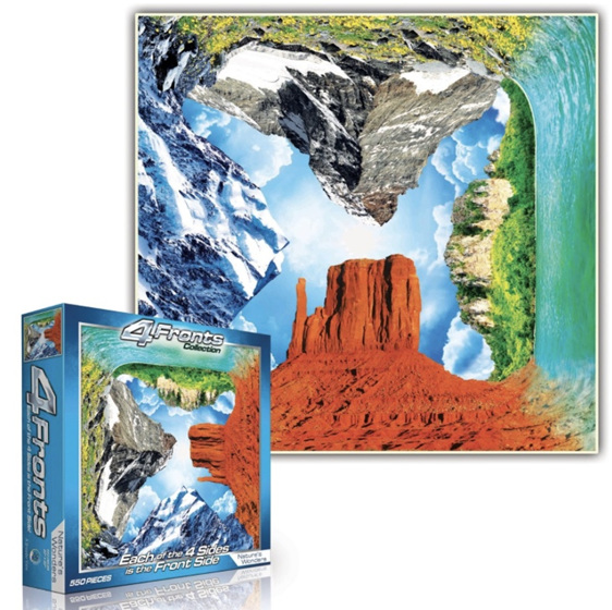 4 Fronts Nature's Wonders 550 Piece jigsaw buy online nz www.puzzlesnz.co.nz