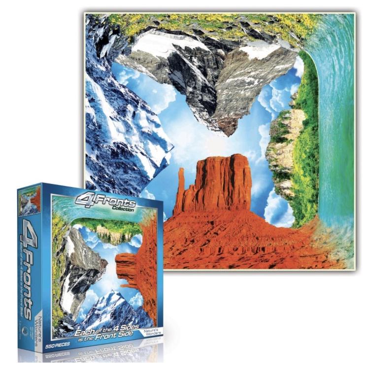 4 Fronts Nature's Wonders 550 Piece jigsaw buy online nz www.puzzlesnz.co.nz