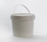 4 Litre Plastic Buckets With Lids - Food Grade