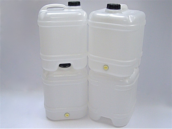 4-Pack water canister + Aquatabs