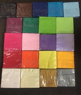 4 Packets of 50  Serviettes