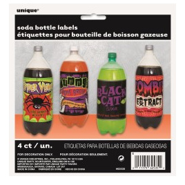 4 scary drink bottle labels