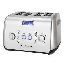 4 Slice Stainless Steel Toaster