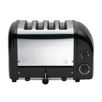 4 Slice Toaster - Original Black